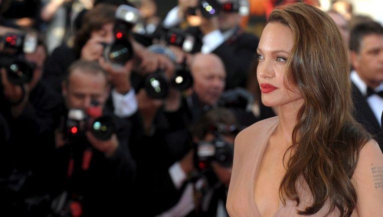 Angelina Jolie eindigde bovenaan de Forbes-lijst, omdat ze de meeste media-aandacht genereert. Foto: EPA/Christophe Karaba Beeld