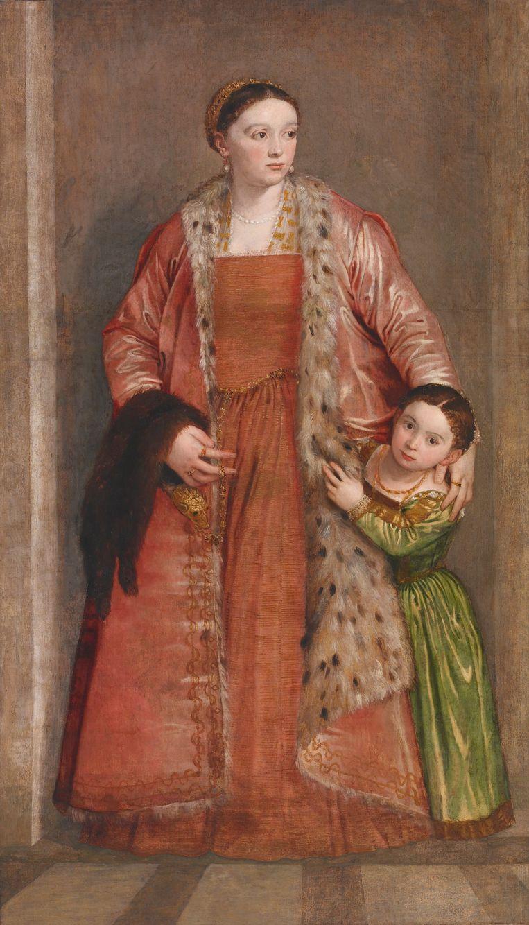 Paolo Veronese's portret van Livia da Porto Beeld The Walters Art Museum