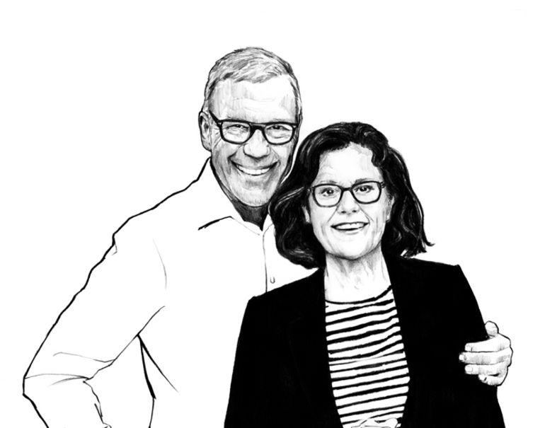 Mijnheer en mevrouw Hamersma  Beeld Sjoukje Bierma