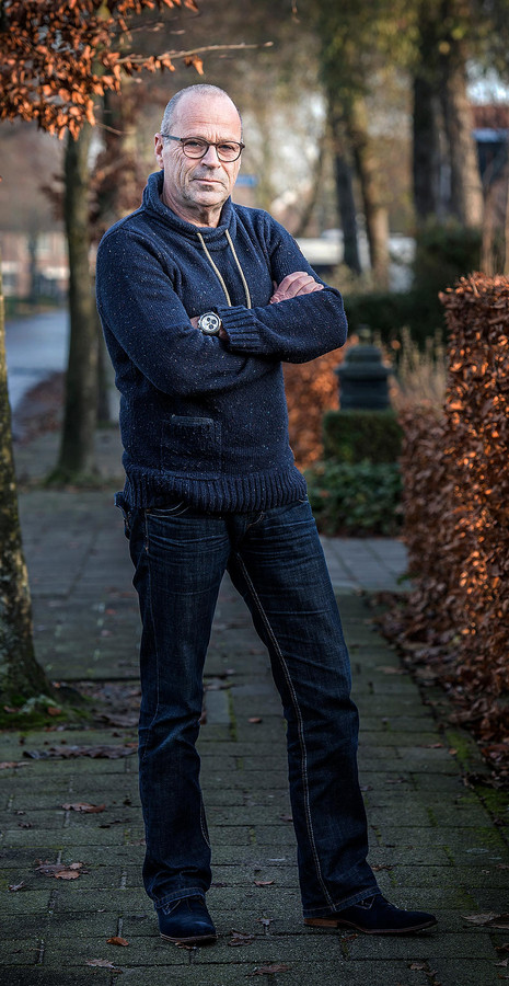 Politieagent Frank de Vetter.