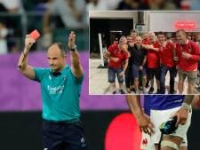 WK rugby klaar voor arbiter Peyper na kiekje met fans uit Wales