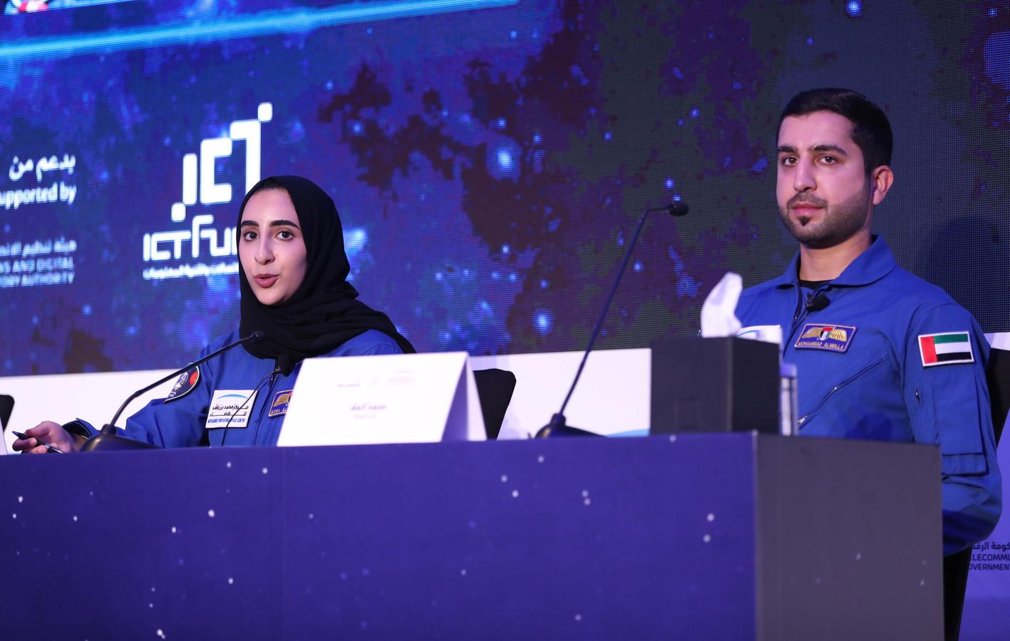 Avec son compatriote Mohamad al-Mulla, 33 ans, Nora al-Matrouchi partira cette année aux États-Unis pour s'entraîner au Centre spatial Johnson de la Nasa, à Houston (Texas).
