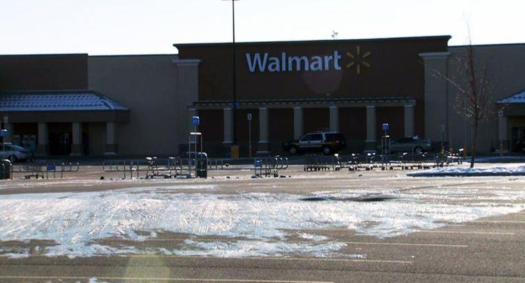 Een Walmart-filiaal in Idaho. Beeld AFP
