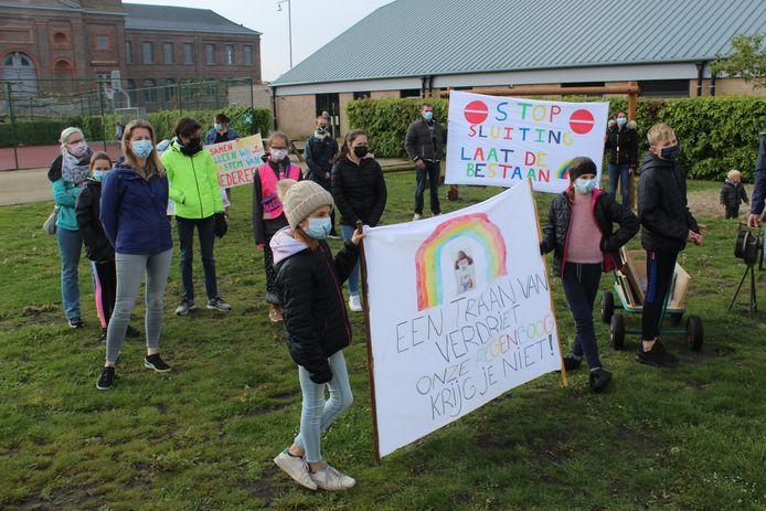 De plannen zorgden in mei nog voor een protesttocht door het dorp.