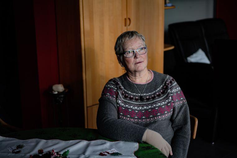 Nelly Vander Linden. Beeld Wouter Van Vooren
