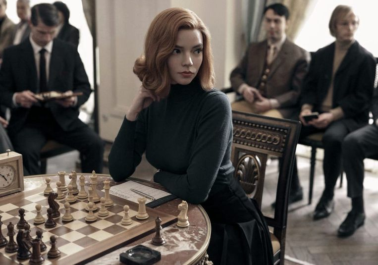 Uit 'The Queen's Gambit'. Beeld rv