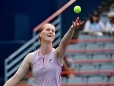 Alison Van Uytvanck éliminée d'entrée à Luxembourg