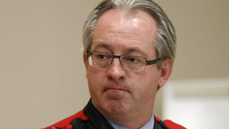 Openbaar aanklager in de zaak Patrick Boyen. Beeld reuters