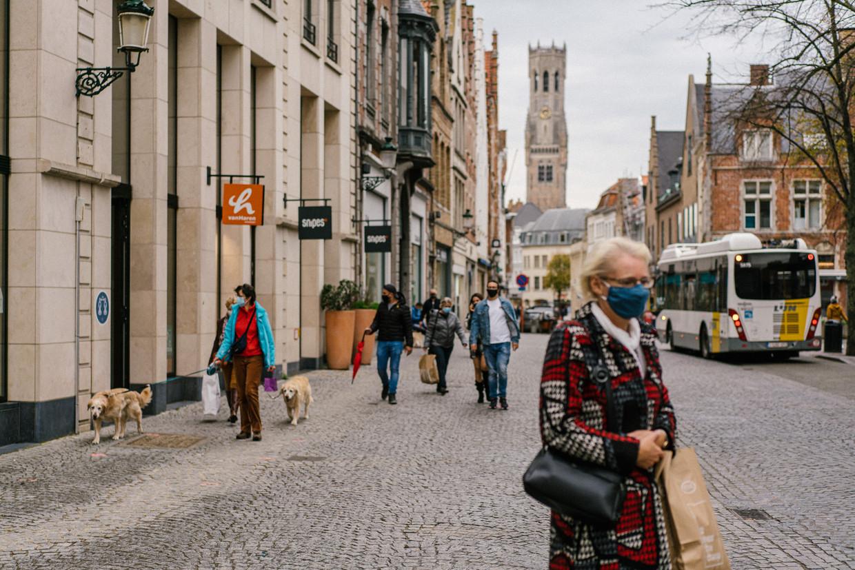 'Brugge en de kuststeden doen het relatief iets beter dan de rest van de provincie.' Beeld Wouter Van Vooren
