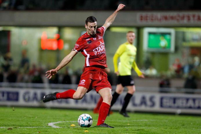Sander Van Eyk scoorde voor Tempo Overijse tegen KRC Bambrugge zijn laatste doelpunt in zijn voetbalcarrière.