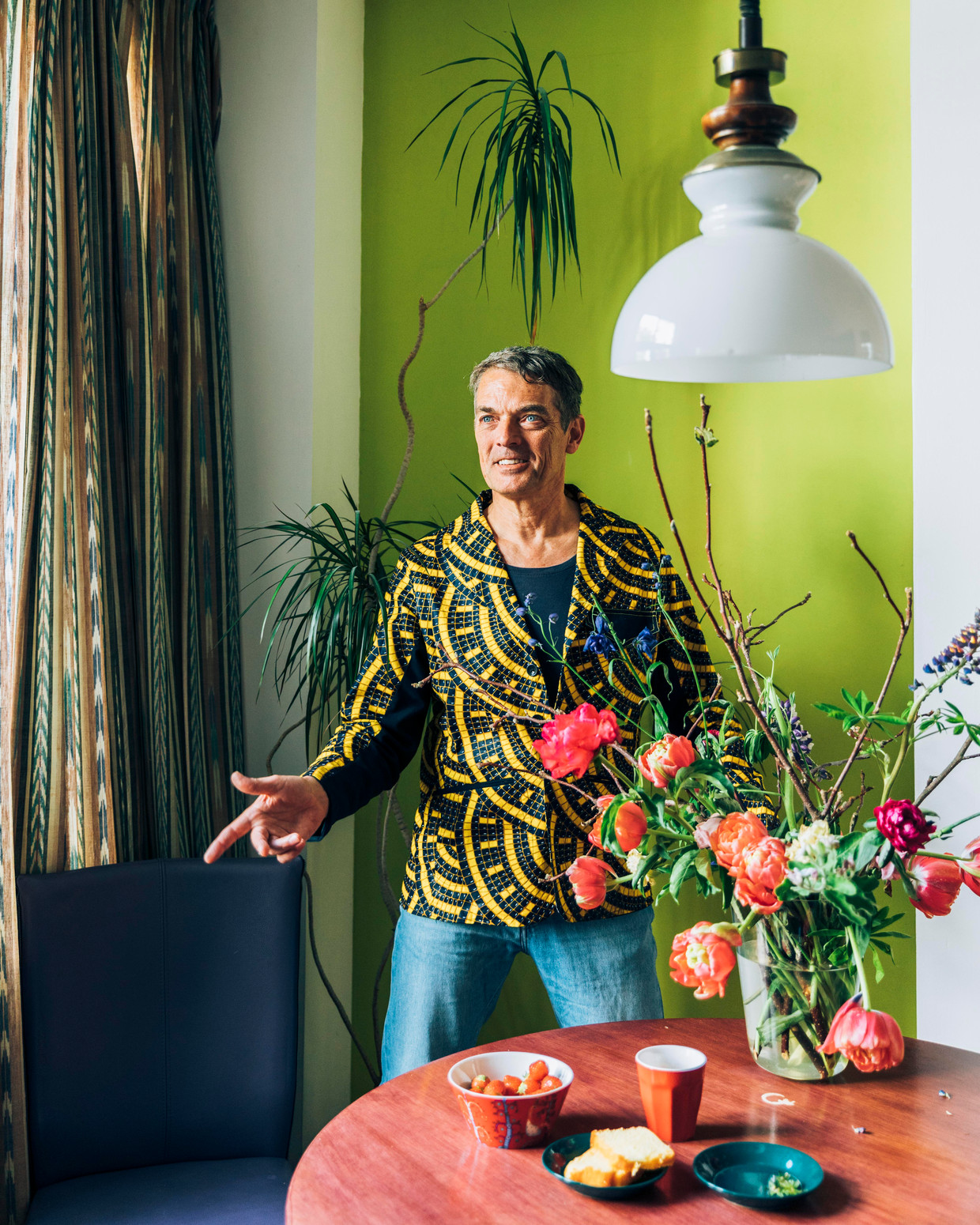 De Nederlandse antropoloog en choreograaf Feri de Geus: 'Het gaat om sensibiliseren, om het bevorderen van bewustzijn.'