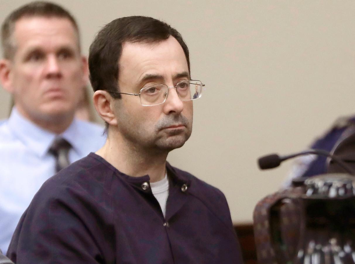 Larry Nassar werd veroordeeld tot een levenslange celstraf.