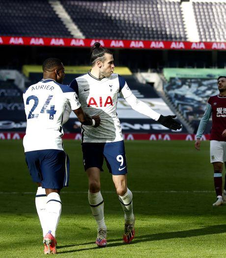 Spurs dankzij uitblinker Bale veel te sterk voor Burnley