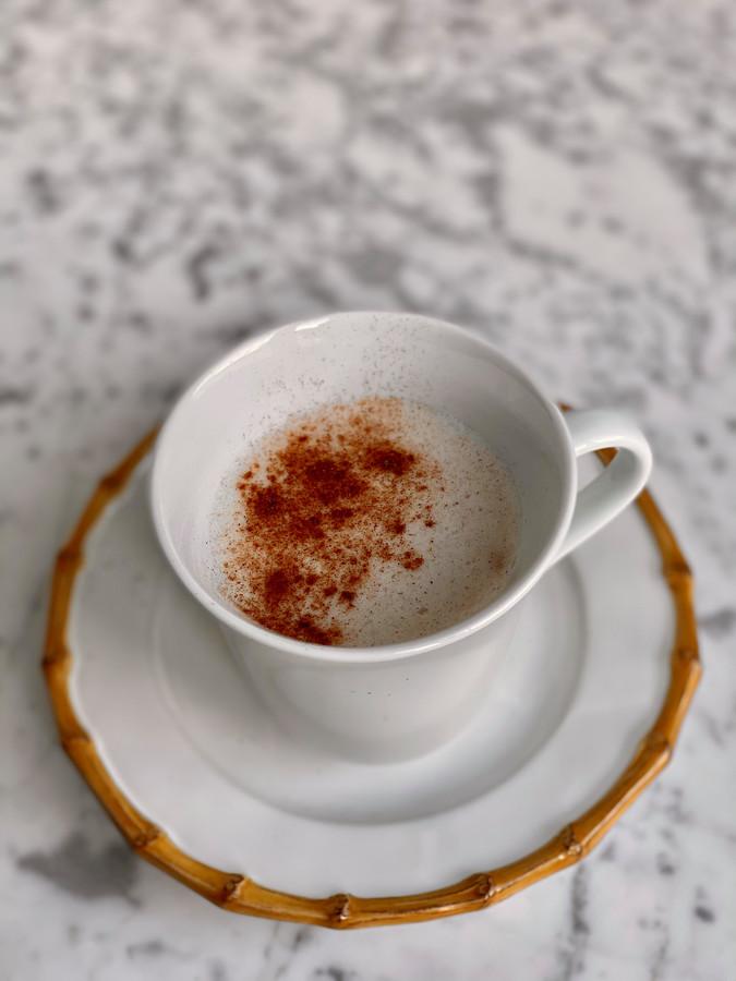 Mushroom latte.