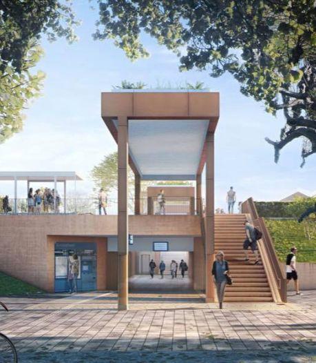 Zo ziet het vernieuwde station van Gorinchem er over een jaar uit