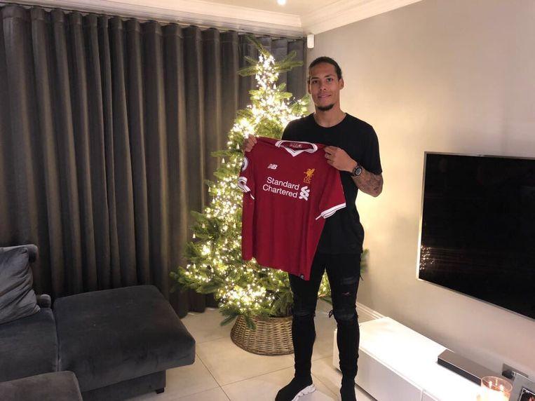 Virgil Van Dijk trekt naar Liverpool.
