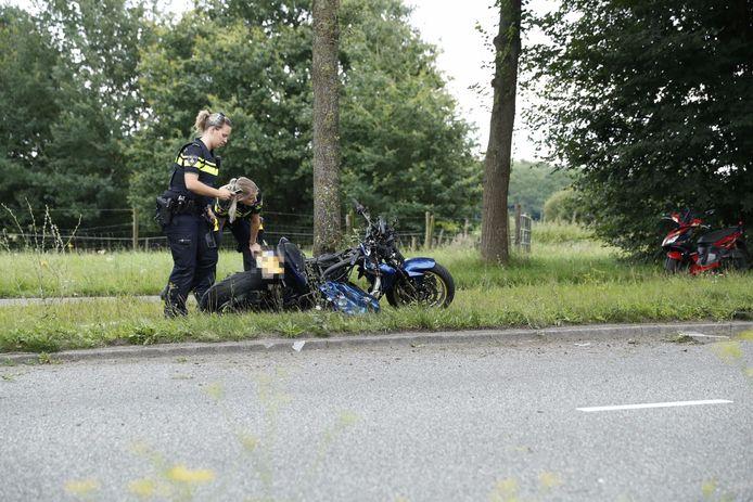 Een motorrijder raakte woensdagavond ernstig gewond op de Zwartewaterallee in Zwolle