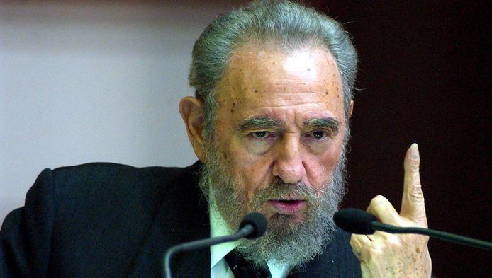 """""""La croix gammée du Fuhrer semblerait être le drapeau aujourd'hui d'Israël"""", poursuit Castro en assurant que son """"opinion n'était pas issue de la haine""""."""
