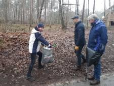 Wandelen en opruimen met de Rotary in Hellendoorn en Nijverdal: 'Mensen waren in shock toen ze met al die rotzooi terugkwamen'