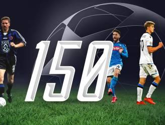 De Ketelaere maakte 150ste Belgische doelpunt in de Champions League, maar is net niet de jongste