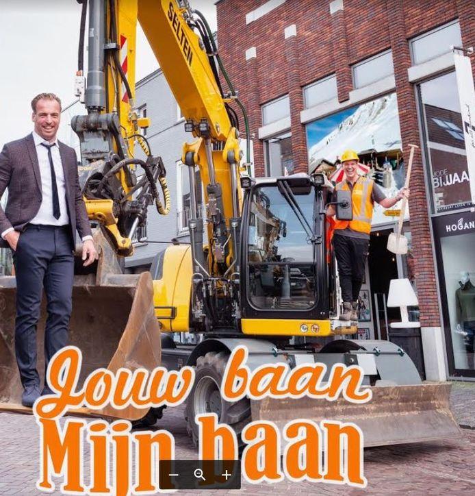 De Udense ondernemers Jaap Verhoof en Dot Selten ruilen zaterdag van baan.