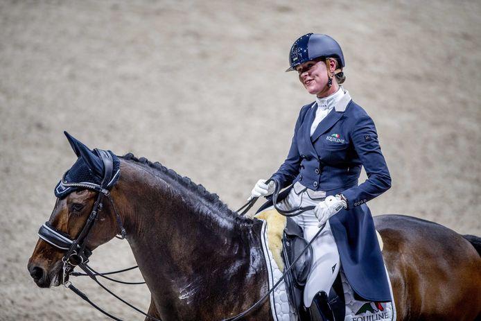 Adelinde Cornelissen heeft met de opmars van Governor twee toppaarden op stal.