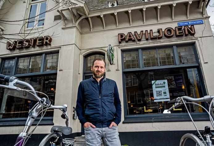 Herman Hell heeft  het Wester Paviljoen overgenomen, het Real Madrid van de Rotterdamse horeca.