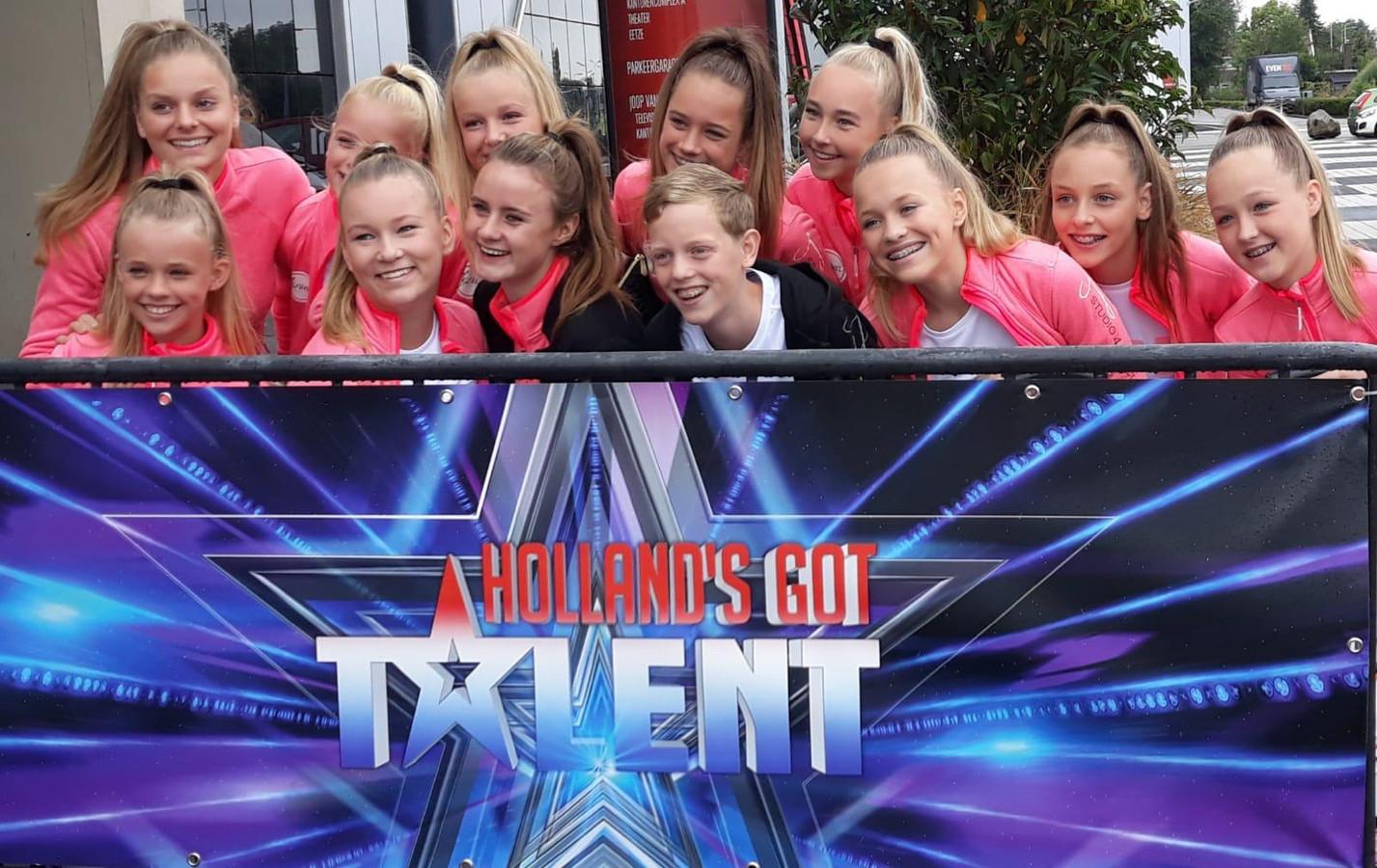 Dancestudio Janien uit Wierden doet met de A16 mee met Holland's Got Talent.