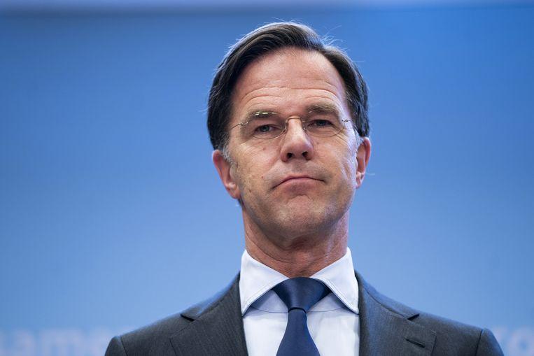 Het was bedoeld ter verzoening, maar Ruttes optreden in Nieuwsuur pakte anders uit. Beeld ANP