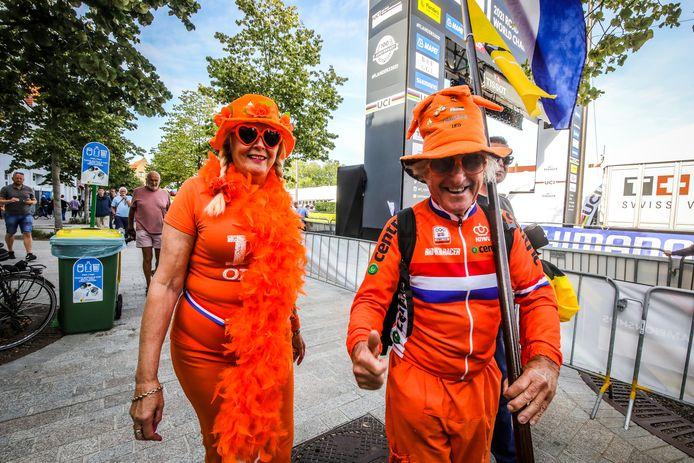 Het WK tijdrijden in Brugge voor vrouwen met deze vrolijke noorderburen