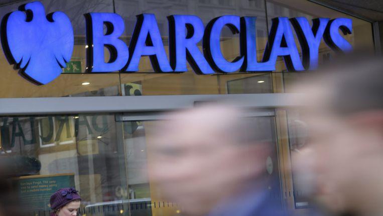 Een filiaal van de Britse bank Barclays in Londen. Beeld ap