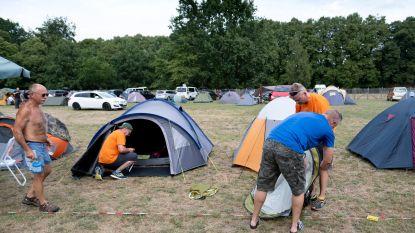 'Camping Dodentocht' legt meer dan 700 wandelaars te slapen