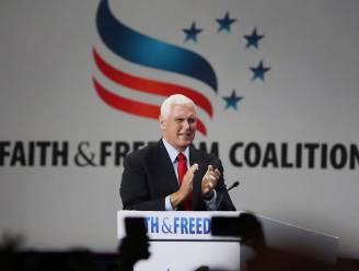 Mike Pence uitgejouwd door eigen achterban van conservatieve christenen