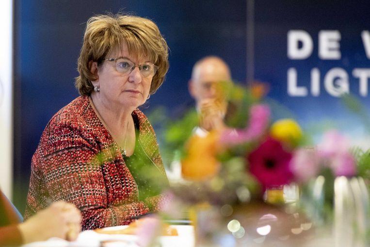 SER- voorzitter Mariëtte Hamer. Beeld ANP