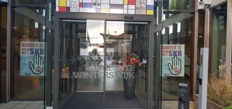 Posteractie 'Handen af van SKB' heeft direct succes in Winterswijk