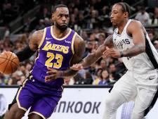 James leidt LA Lakers naar vijfde zege op rij