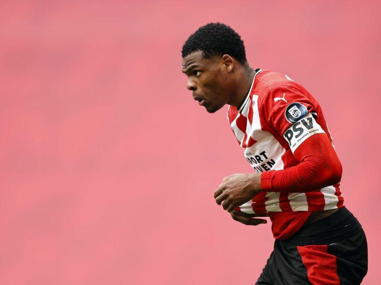 Internazionale wil nog niet aan de vraagprijs van PSV voor Dumfries voldoen