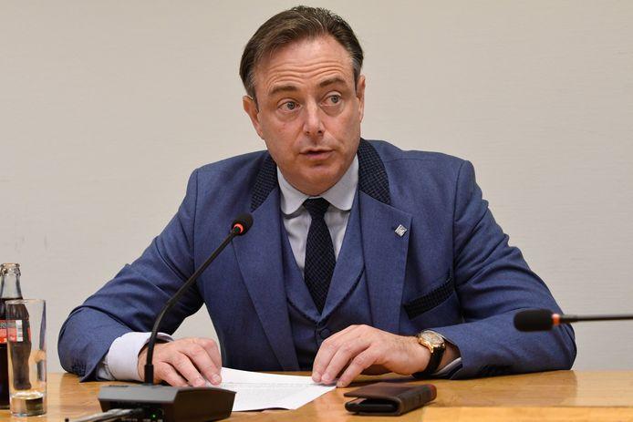 N-VA-voorzitter Bart De Wever