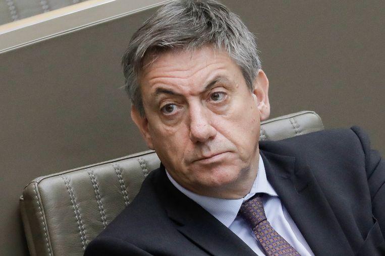 Vlaams minister-president Jan Jambon (N-VA), ook bevoegd voor Cultuur. Beeld BELGA