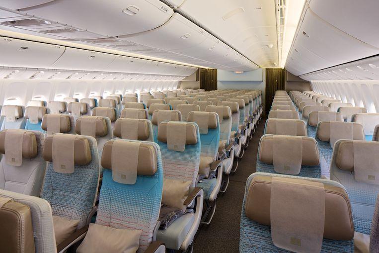 Passagiers in economy kunnen van enkele vernieuwingen genieten.