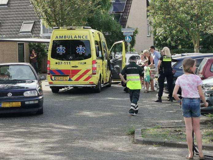 Het ongeluk gebeurde aan het Schutterspad in Heelsum.