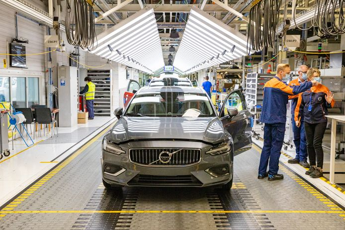 De fabriek van Volvo Cars in Oostakker ligt volgende week de hele week stil