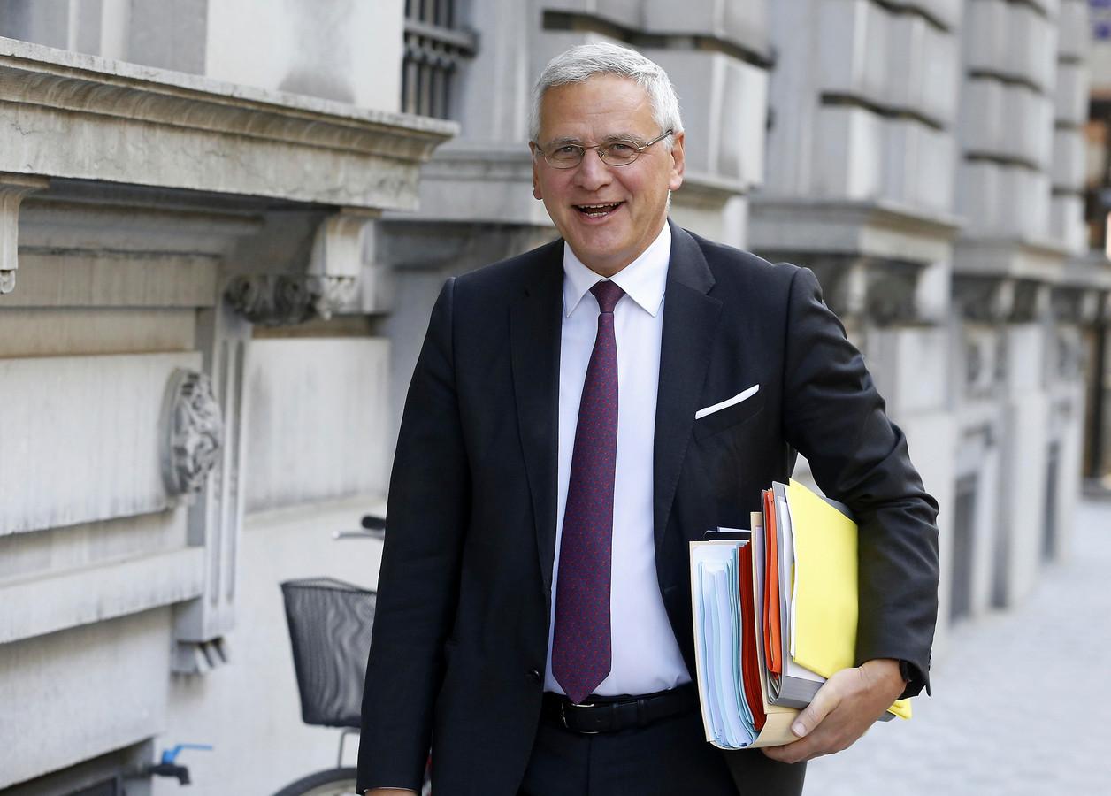 Kris Peeters, minister van Werk