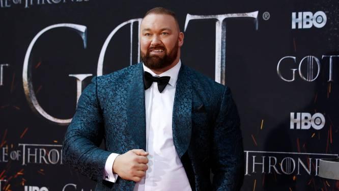 The Mountain uit 'Game Of Thrones' verbreekt wereldrecord deadlift en tilt 501 kilogram