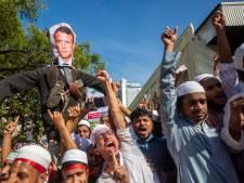 Des milliers de personnes manifestent contre la France au Bangladesh