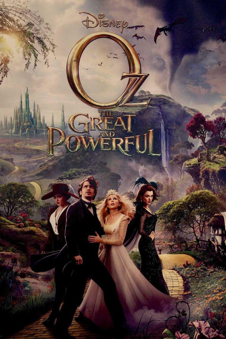 De filmposter van Oz the Great and Powerful. Beeld null