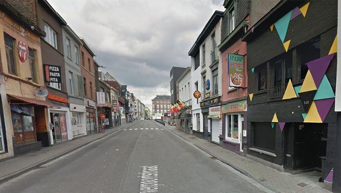 De Overpoortstraat in Gent