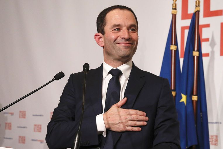 Benoît Hamon. Beeld Photo News