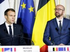 À Bruxelles, Macron soutient le pacte migratoire de l'ONU