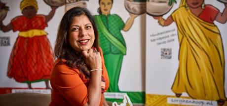Sandra's zelfbedachte kruidenpasta's liggen nu bij de Jumbo: 'Ik ben met de lepel in mijn hand geboren'